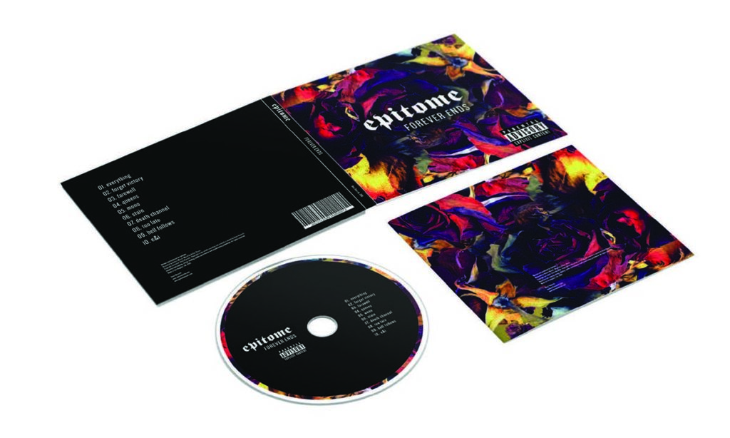 CD design and mockup